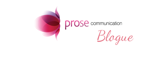 Logo de Prose Communication: section blogue